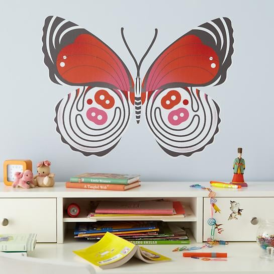 Land of Nod Butterfly Decal