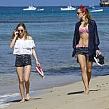 Suki and Immy nailed the stylish-meets-functional look we all go for on vacation.