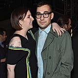 The pair got cozy at the Girls season four premiere afterparty in January.