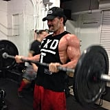 Pictures of Joe Manganiello's Arms