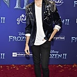Joey Graceffa at the Frozen 2 Premiere in Los Angeles
