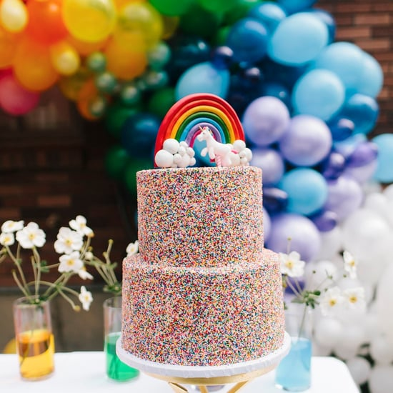 Girl's Rainbow Birthday Party