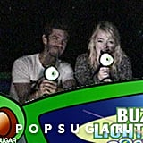 Emma Stone and Andrew Garfield had fun together at Disneyland.