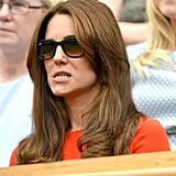 Kate Middleton's Facial Expressions Watching Sports Pictures