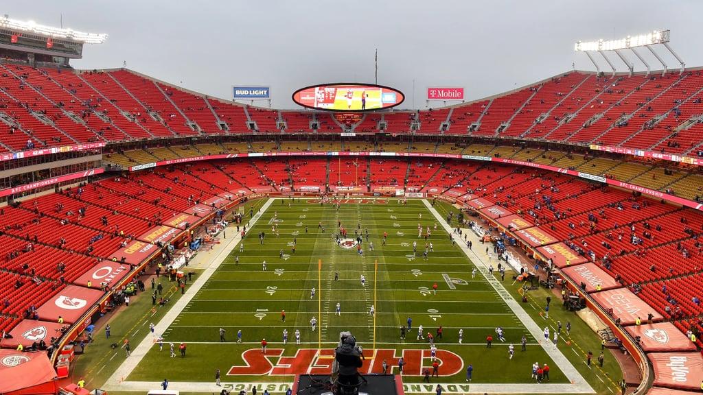 Kansas City Chiefs Stadium Zoom Background