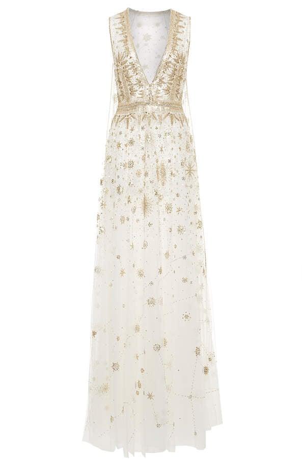 Cucculelli Shaheen Constellation Capeline Gown