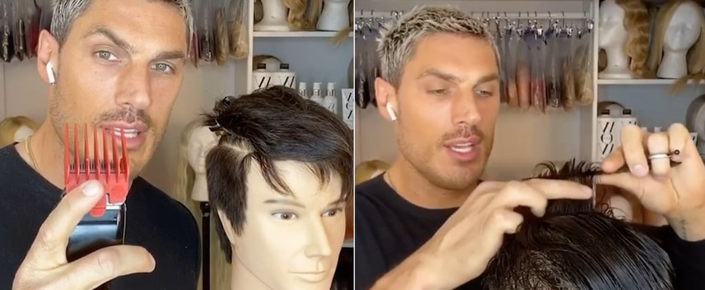 Hairstylist's Tips to Cutting Men's Hair at Home
