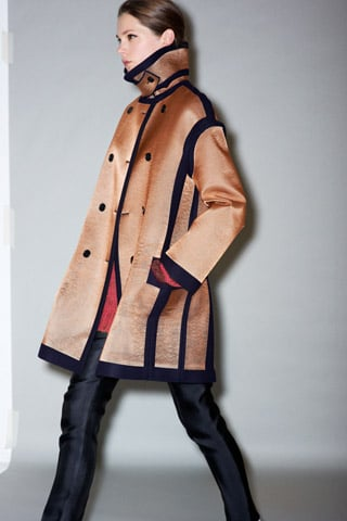 "Phoebe Philo Devises Statement Coats and a ""Modern Urban Camouflage"" For Celine Pre-Fall 2011"