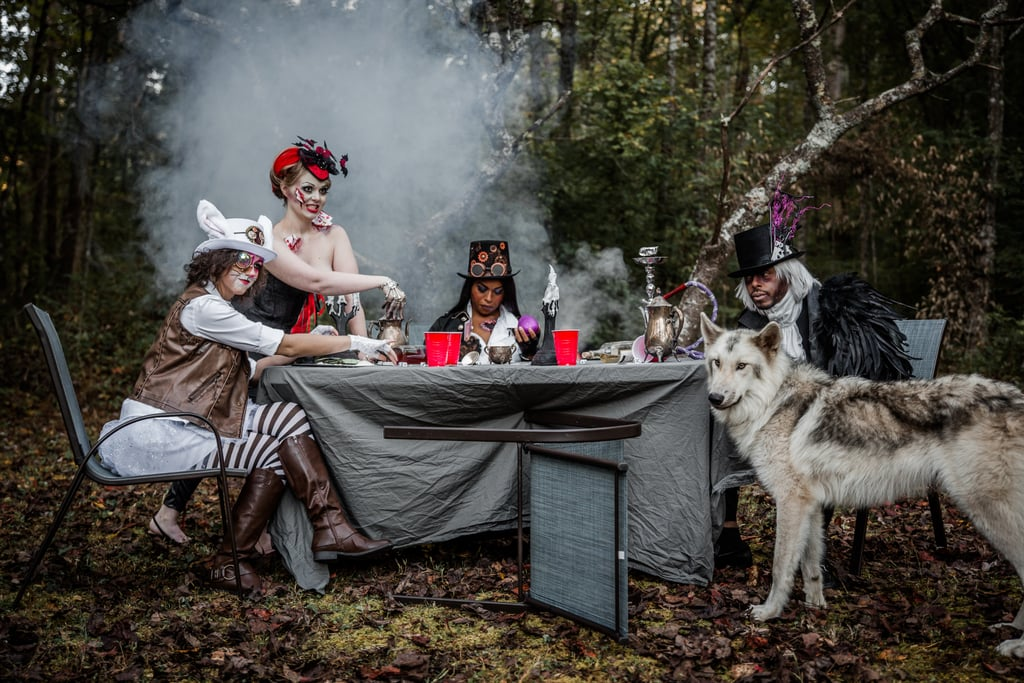 Alice in Wonderland Halloween Photo Shoot