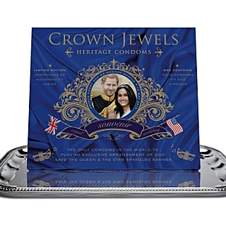 Royal Wedding Condoms From Crown Jewels