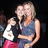 Natalie Portman posed with Lauren Holly at the 1998 premiere of 54 in LA.