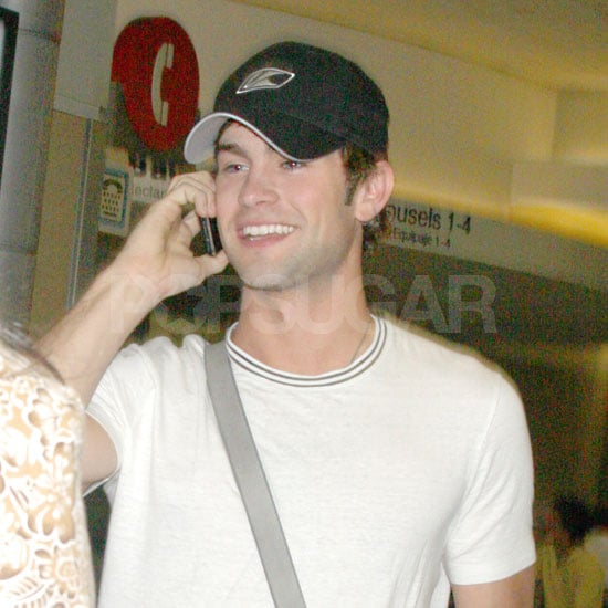 Photo of Chace Crawford at LAX airport