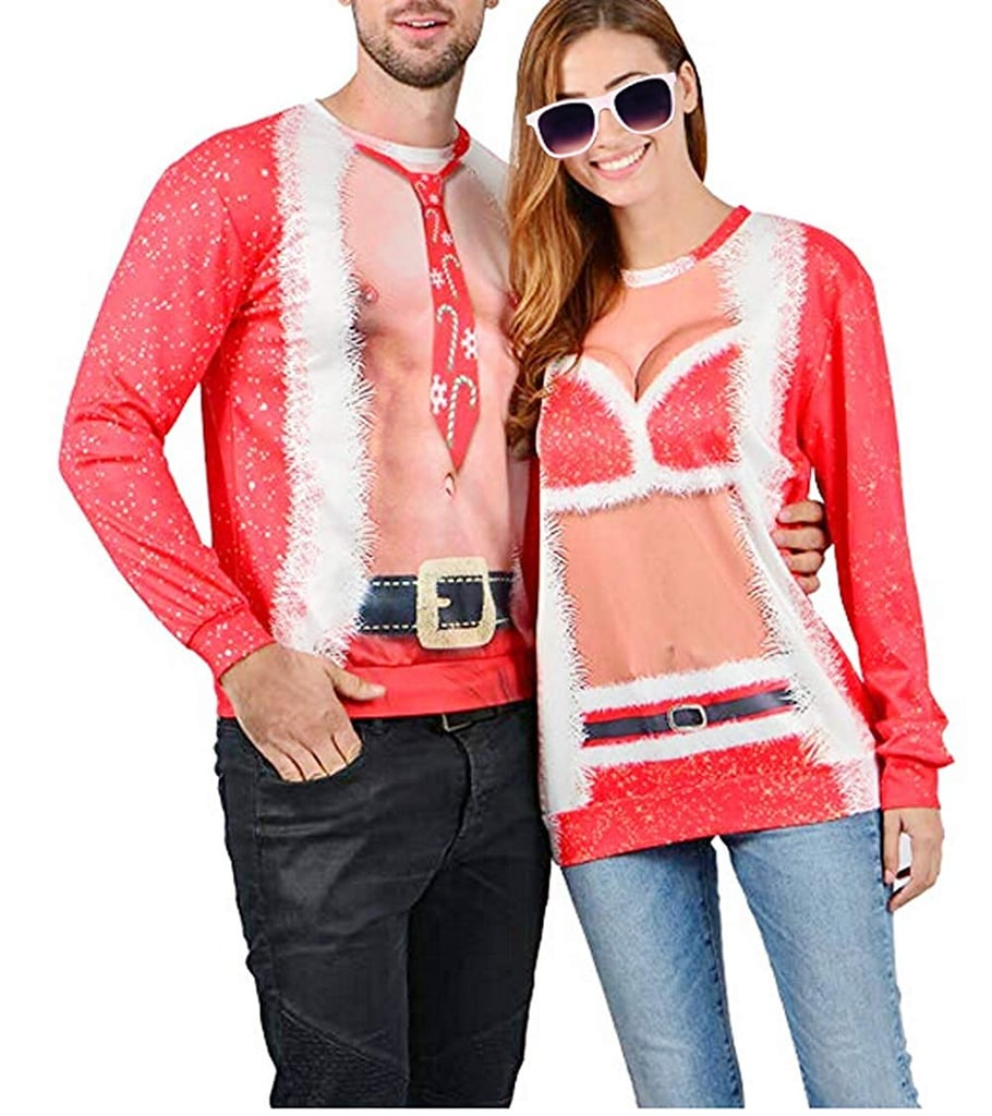 3dd0603ce1f Funny Graphic Pullover Tops | Ugly Christmas Sweaters For Couples ...