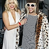 Mark Ballas as Kurt Cobain and BC Jean as Courtney Love in 2015