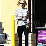 Pictures of January Jones Photocopying Mad Men Rolling Stone Cover at Kinko's
