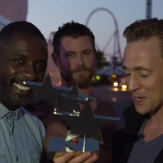 Tom Hiddleston TV Choice Award Acceptence Speech Video
