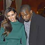 Kim Kardashian and Kanye West stepped out for a date night in Rome.