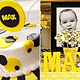 Bee-Themed First Birthday