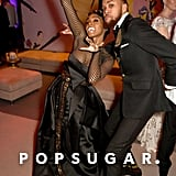 Pictured: Janelle Monáe and Jidenna