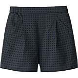 Uniqlo Women Eyelet Shorts ($30)