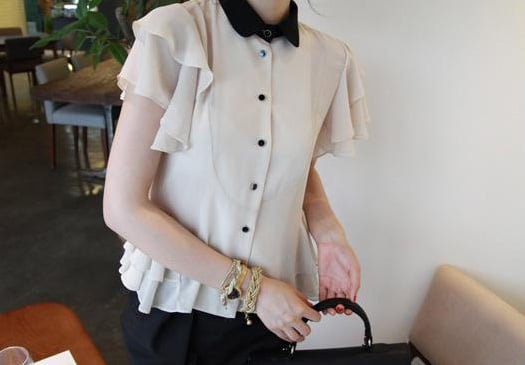 Wedding Blouse, $69 from Queen's Wardrobe