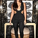 Kim showed so much skin when she attended an art opening in LA in Aug. 2014.