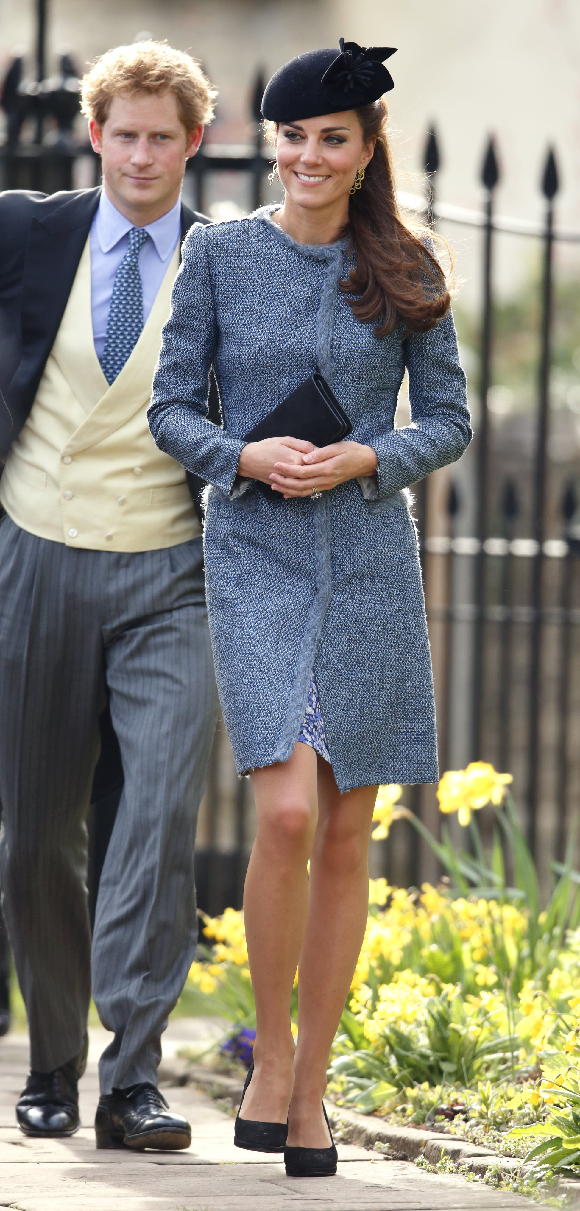 Kate Middleton at a Friend's Wedding in 2014