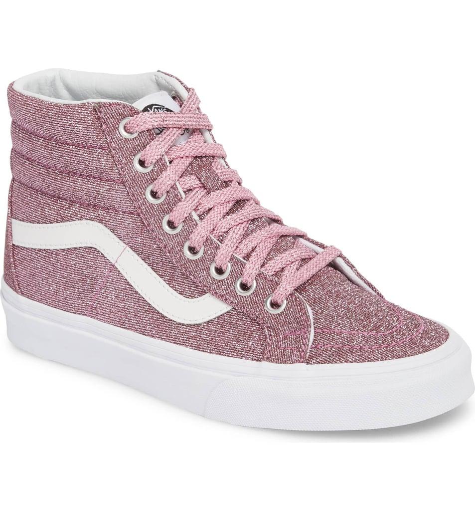 f2ebe81fa1 Vans UA Sk8-Hi Reissue Glitter Sneaker