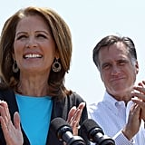Michele Bachmann Backs Mitt Romney