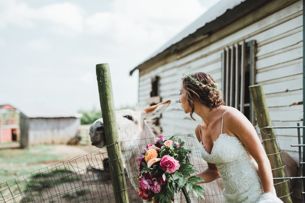 Forget A Cake This Couple Had Pinata At Their Rustic Wedding Instead