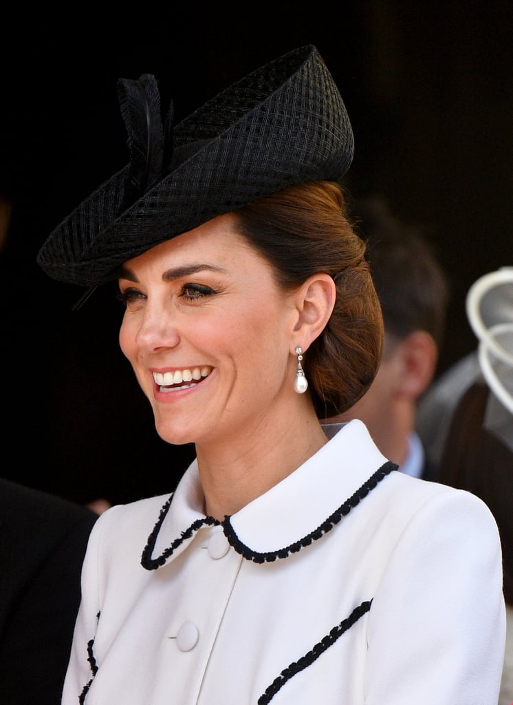 Kate Middleton's Perfectly Pristine Updo, 2019
