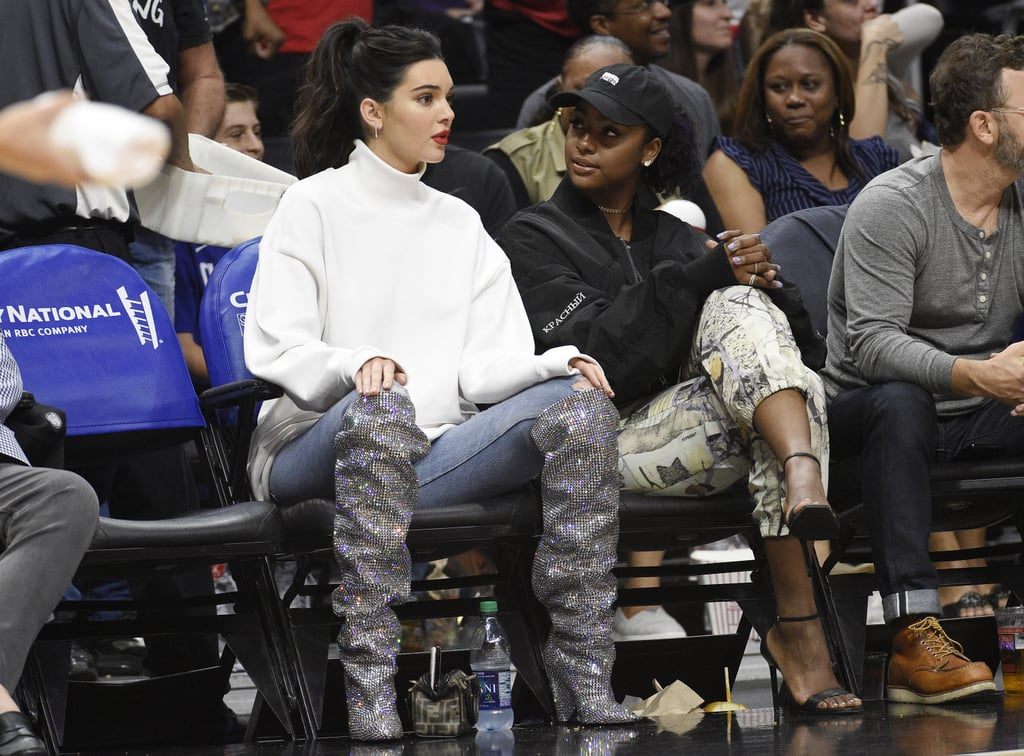 "The Kardashian-Jenners own the sexy game. (Just take a peek into Kim's closet.) While each sister has her own definition of what's sexy, the family's taste in shoes is pretty similar. Think thigh-high lace-up boots and strappy, minimalist heels. The sisters share a love for Balenciaga footwear and, like all siblings, borrow from each other's closets. Kylie confirmed this to be true with an Instagram snap of her boots, writing, ""To have older sisters who love to share is a blessing."" We have to admit we're slightly envious of the shoe swaps that go on behind the scenes. The family as a whole dominated 2017 with an unbeatable footwear game, and you'll be inclined to agree after checking out the photos ahead.      Related:                                                                                                           Kendall Jenner's 50 Sexiest Shoe Moments of All Time"