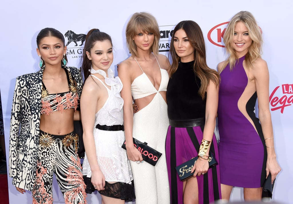 Taylor Swift and Her Squad Shut It Down on the Billboard Music Awards Red Carpet