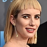 Emma Roberts Hair at the 2018 Critics' Choice Awards