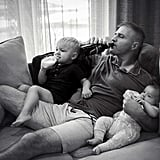 Photo Series Showing Hands-On Dads