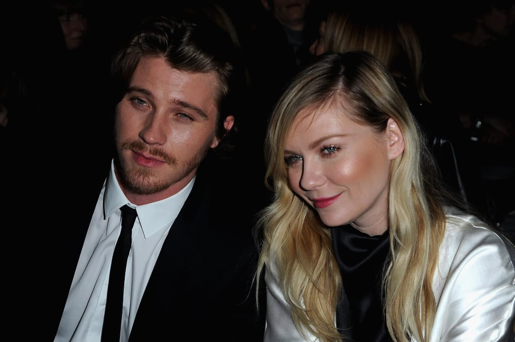 Garrett Hedlund and Kirsten Dunst at Saint Laurent.