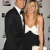 In November 2012, Jennifer and Justin had a laugh on the red carpet together at the American Cinematheque Awards in LA.