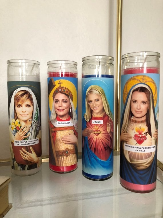 Prayer Candles | Gifts For Fans of The Real Housewives