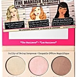 """For contouring, Jamie selected The Balm's theManizer Sisters ($28). She said it's """"a great glowing contour kit with no mattes."""""""