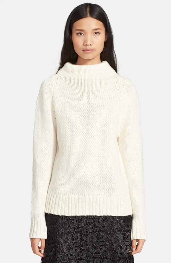 A.L.C. Calo Wool Blend Mock Neck Sweater ($395)