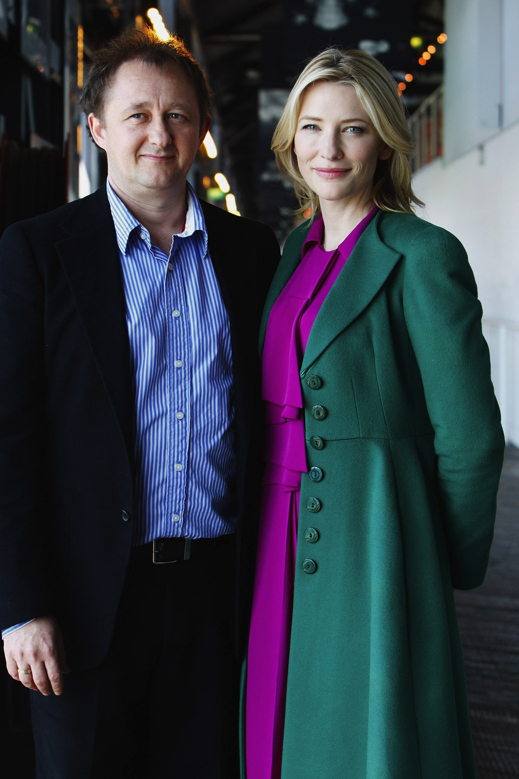 In 2009, Cate and Andrew posed at the Sydney Theatre Company ahead of a new season.