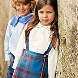 Look 1 — Girls' Kilt and Double Rickrack Blouse ($75-$185)