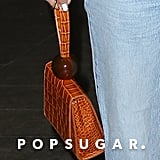 Selena Gomez's By Far Croc Effect Bag