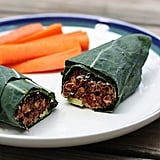 California Bean Burger Collard Wrap