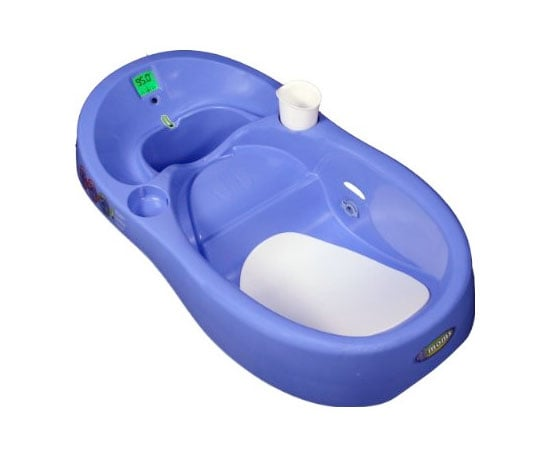 Tub With Thermometer