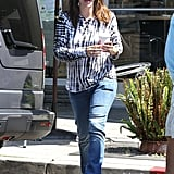 Jennifer Garner Takes Baby Samuel Out For a Sweet Afternoon Treat