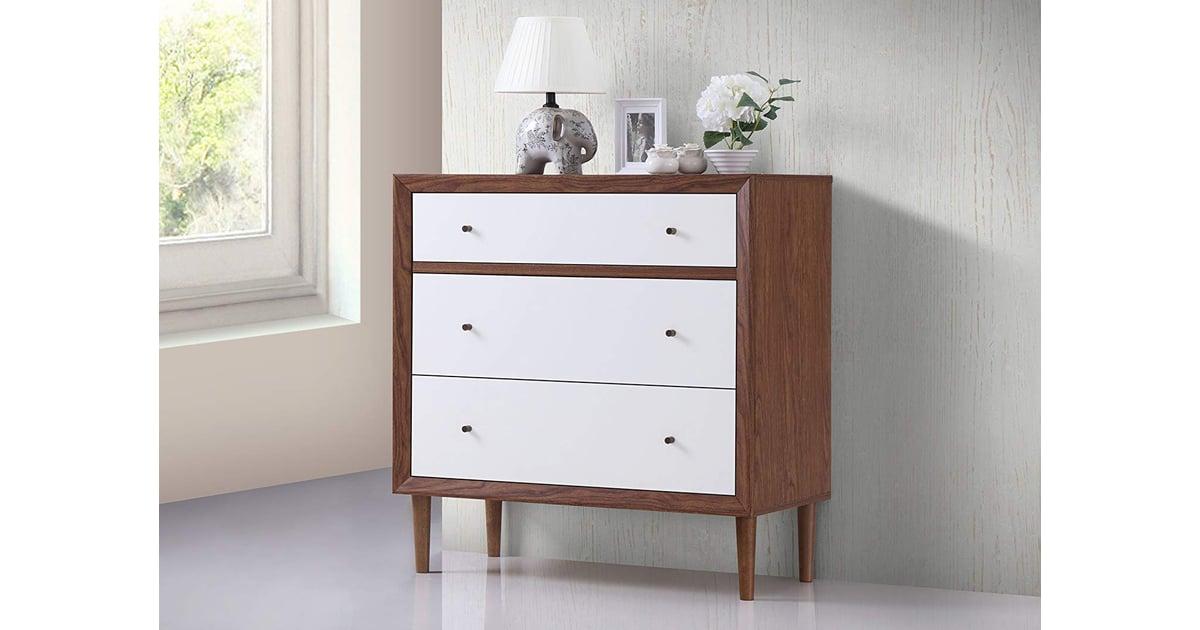 Baxton Furniture Studios Harlow Mid Century Wood Best