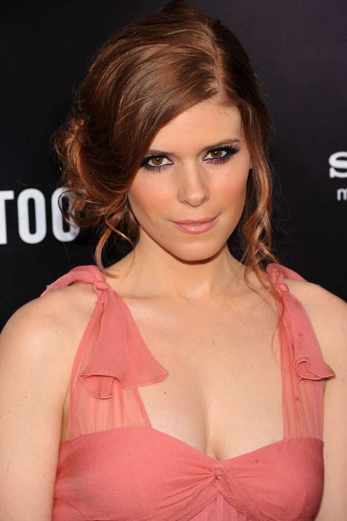 Kate Mara supported her sister's premiere in a Christian Dior dress.