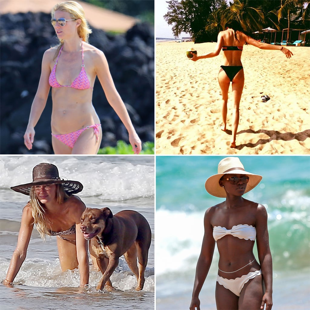 best celebrity bikini photos of 2014 | popsugar celebrity
