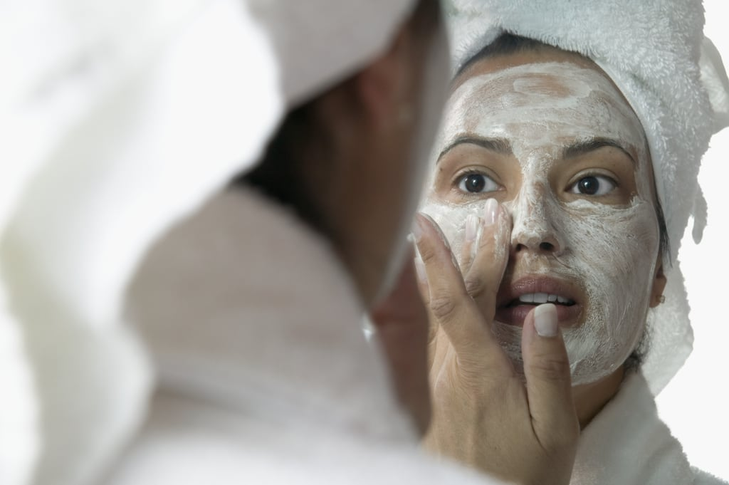 Give yourself an at-home facial.